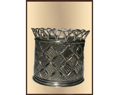 """Серебряная подставка для ложек """"Серебряная Орхидея"""""""